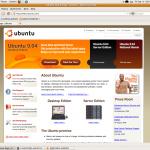 Novo botão nas janelas do Ubuntu.